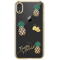 Чехол Kingxbar Tropical Series для iPhone XR Pineapple