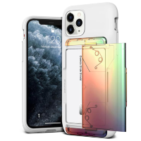 Чехол VRS Design Damda Glide Shield для iPhone 11 Pro Max White Orange - Purple