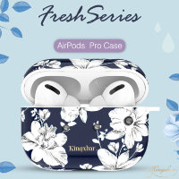 Чехол Kingxbar Fresh для Apple Airpods Pro Lily